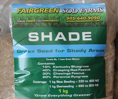 Fairgreen Sod Farms Shade Grass Seed