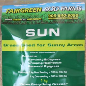Fairgreen Sod Farms Sun Grass Seed